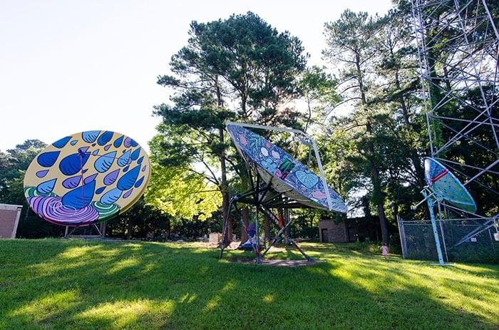 Satellite Park in Durham North Carolina