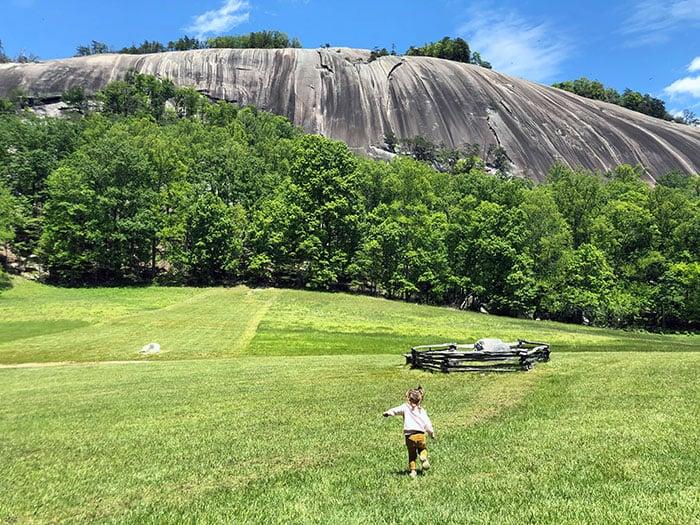 Stone Mountain State Park NC Granite Dome