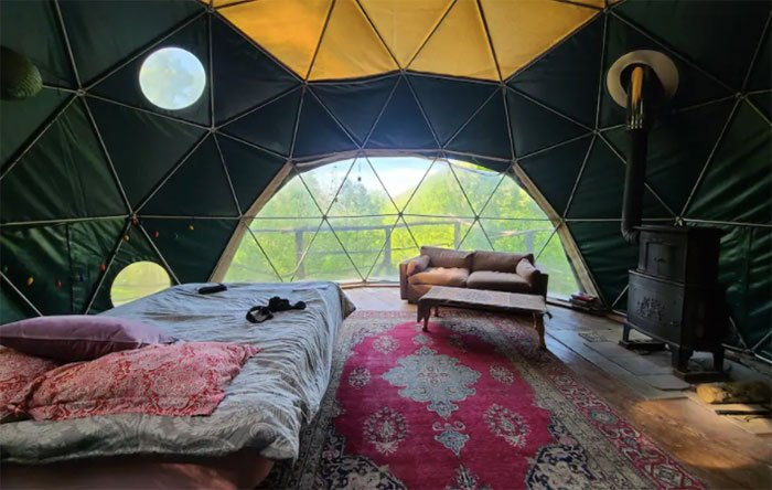 Weaverville Yurt