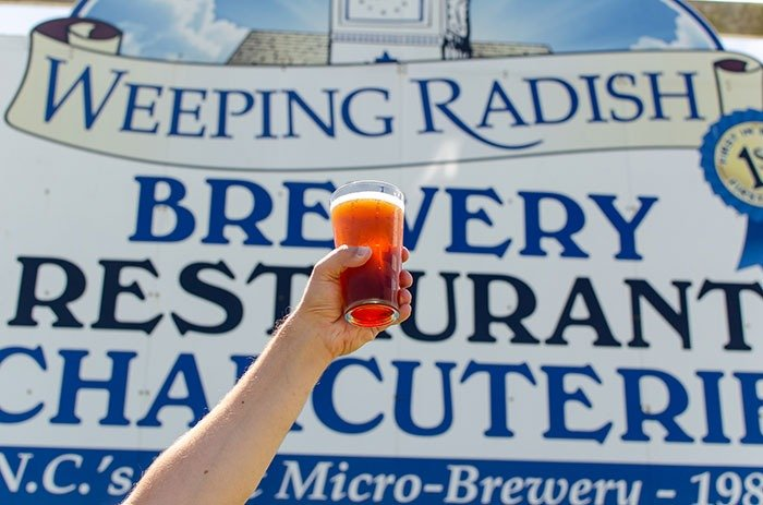 Weeping Radish Brewery Outer Banks