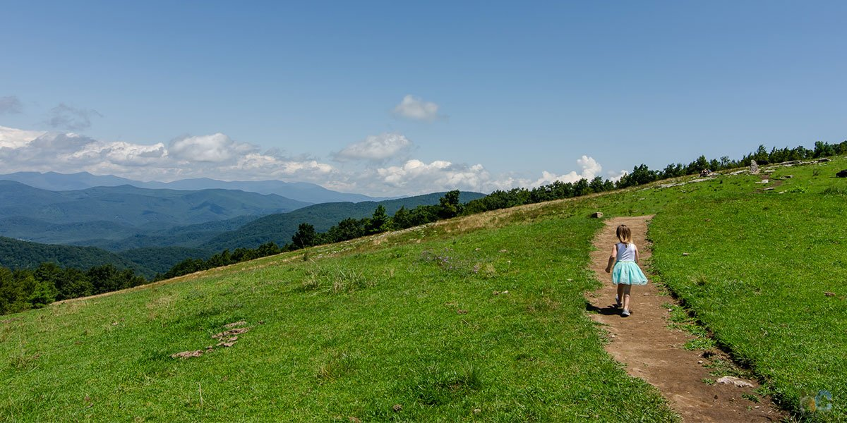 The Bearwallow Mountain hike is one of the most rewardiing walks in Western NC.