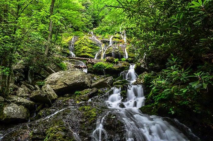 Catawba Falls Waterfalls in North Carolina