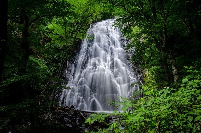 Crabtree Falls Waterfalls in North Carolina