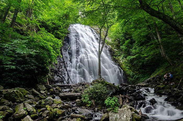 Crabtree Falls in Yancey County NC