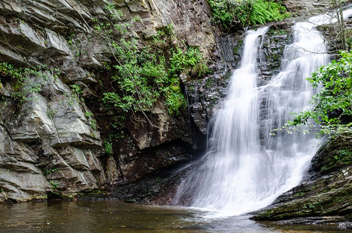 Lower Cascade Falls Hanging Rock State Park