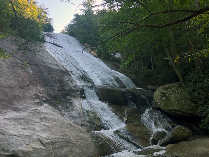 Stone Mountain Falls Waterfalls in North Carolina