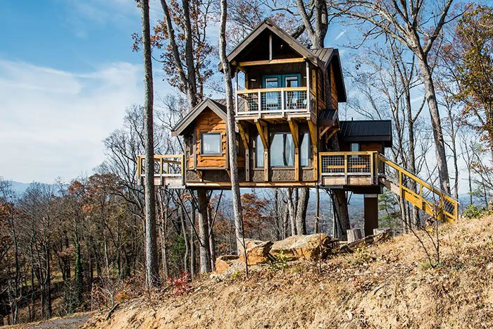 Treehouse of Serenity Sanctuary Image Credit Airbnb