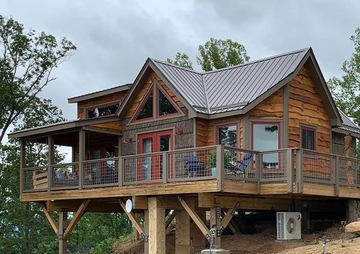 Treehouse of Serenity The Perch Image Credit Airbnb