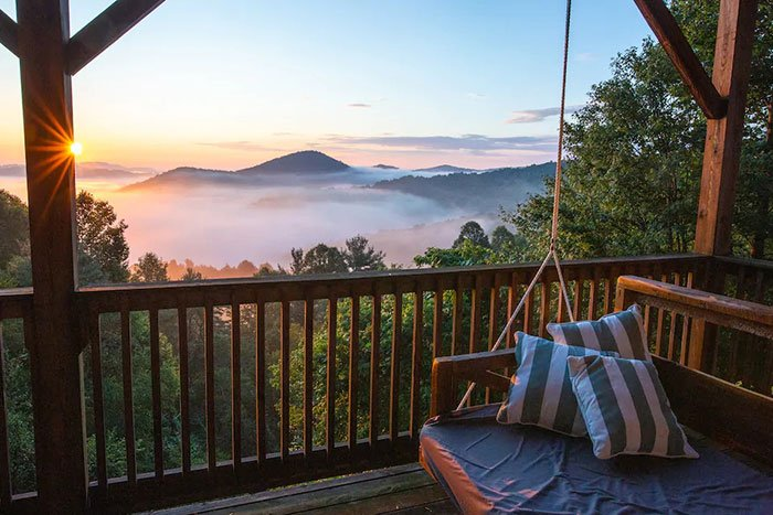 Boonetown TreeTops Boone Airbnb