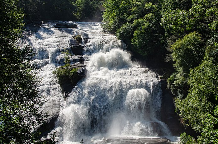 High Falls DuPont State Recreational Forest North Carolina