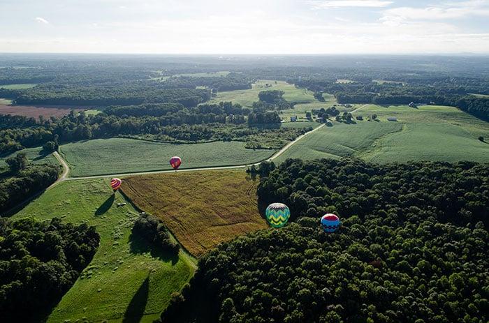 Hot Air Balloons Statesville NC