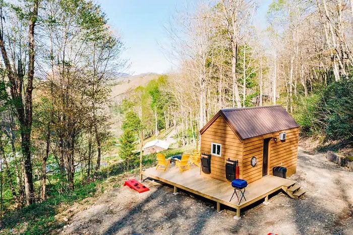 Lil Daisy Tiny House Boone Airbnbs