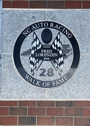 NC Auto Racing Walk of Fame Mooresville NC