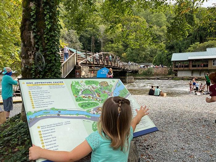 Nantahala Outdoor Center near Bryson City NC