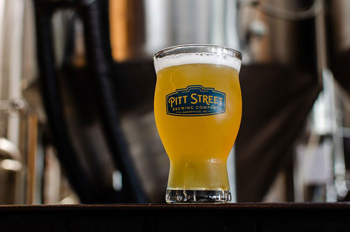 Pitt Street has one of the most recognizable names among all the breweries in Greenville.