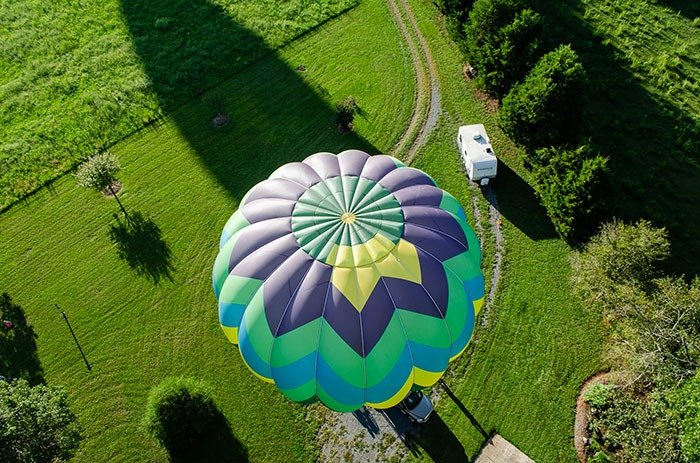 Ride a Hot Air Balloon in Statesville NC