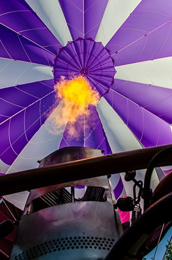 Take Off Hot Air Balloon in North Carolina