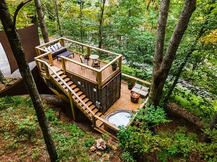 Tiny Bunker in Todd Airbnbs in Boone