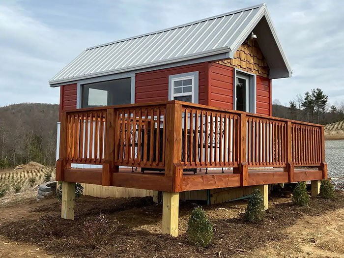 Tiny House with BIG VIEWS Boone Airbnb