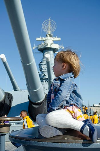 Winter Getaways in North Carolina Wilmington Battleship NC