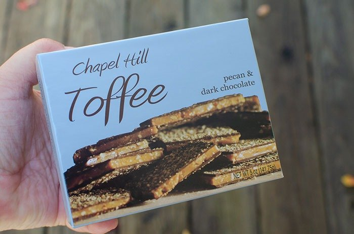 Chapel Hill Toffee North Carolina gifts