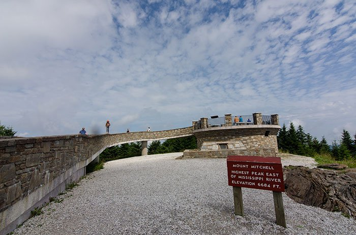 Day Trips from Boone NC Mount Mitchell Summit