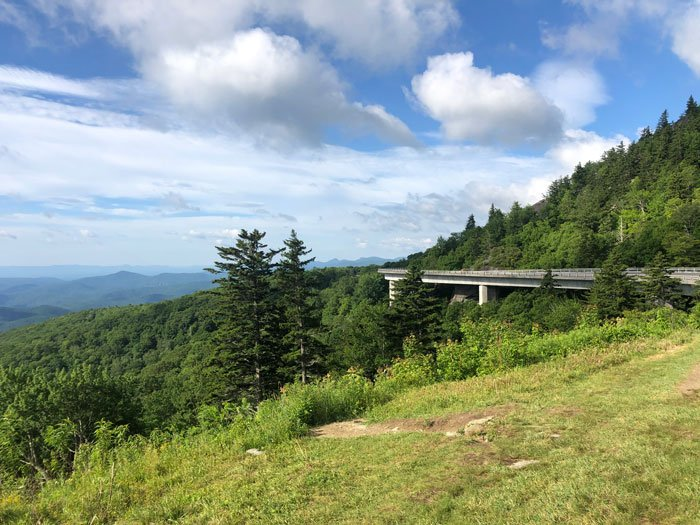 Of all the National Parks in North Carolina to travel along, the Blue Ridge Parkway is our favorite!