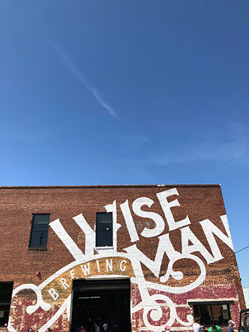 Breweries in Winston Salem Wise Man Brewing