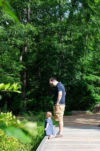 NC Botanical Garden in North Carolina
