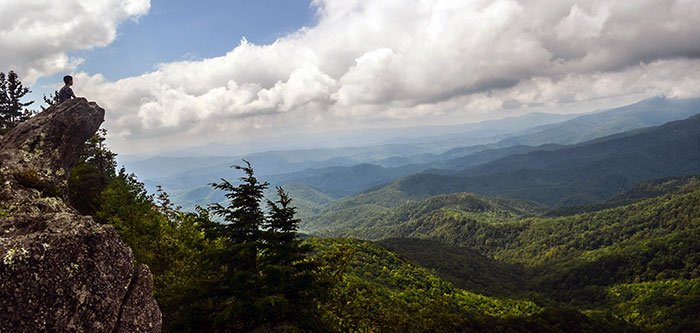 The Blowing Rock North Carolina Tourist Attraction