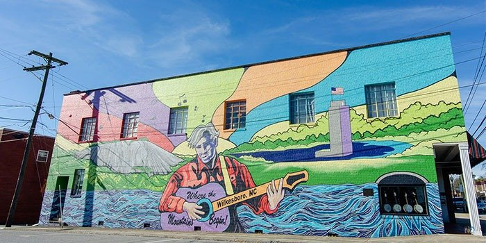 There are so many things to do in Wilkesboro, from history to moonshine to music and beyond!