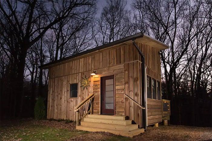 Tiny Houses in North Carolina Cozy Tiny House Near Downtown and Blue Ridge