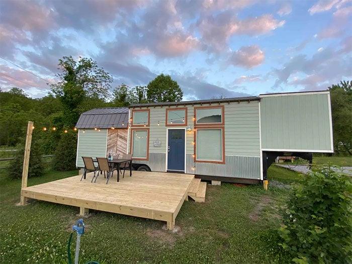 Tiny Houses in North Carolina Junior Mint Acony Bell Tiny Home Village