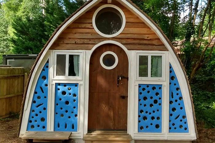 Tiny Houses in North Carolina The Boathouse