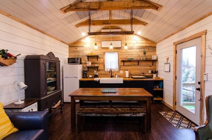 Tiny Houses in North Carolina Tiny Home Amazing Views Fleetwood Ashe County