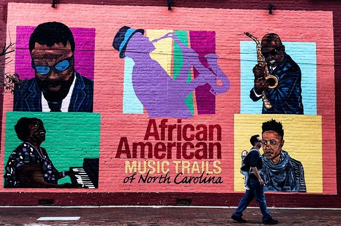 Black History in North Carolina African American Music Trail