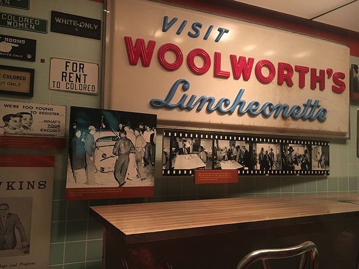 Black History in North Carolina NC Museum of History Woolworths Lunch Counter