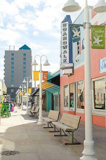 Carolina Beach Boardwalk Wilmington Beaches