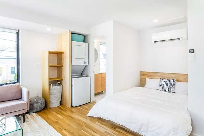 Fresh New Studio in Downtown Raleigh Airbnb