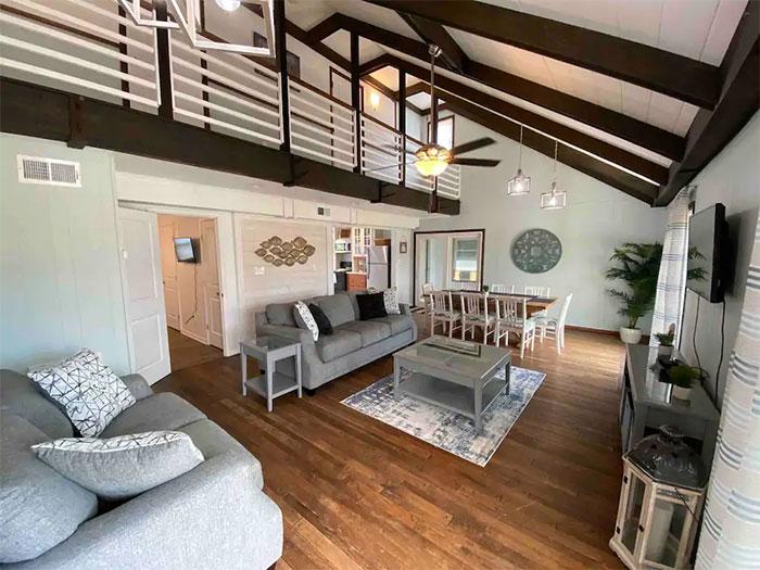 Kinnakeet Ocean Side House Image Courtesy of Airbnb