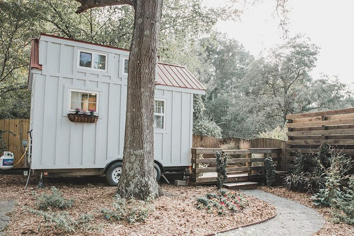 The Tiniest Home in Raleigh Airbnb