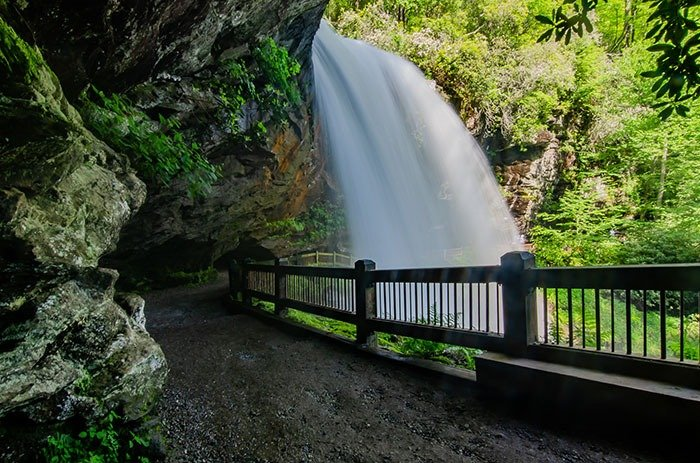 Weekend Getaways in North Carolina Highlands Dry Falls