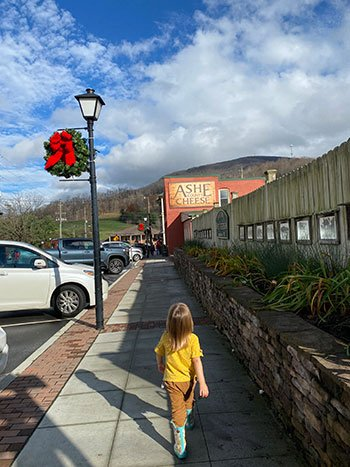 Day Trips from Greensboro NC Ashe County Cheese