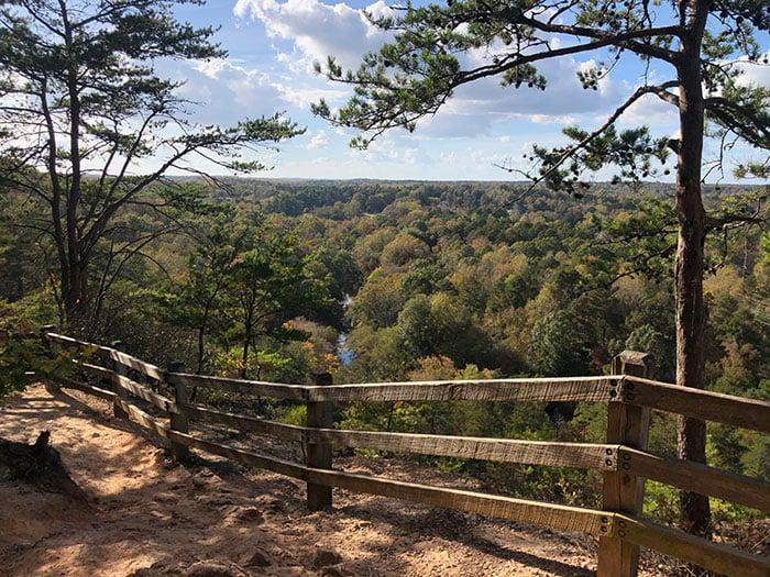 Day Trips from Greensboro NC Hillsborough Occoneechee Mountain