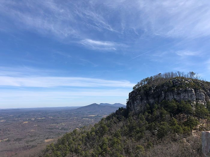 Day Trips from Greensboro NC Pilot Mountain
