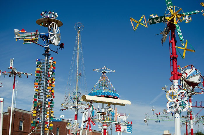 Day Trips from Greensboro NC Wilson Whirligig Park