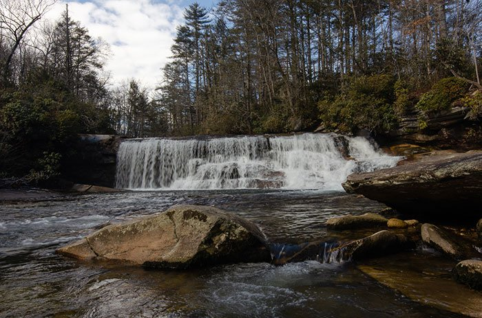 French Broad Falls Brevard NC