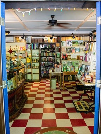 Little Switzerland NC Books and Beans Bookstore and Coffee Shop