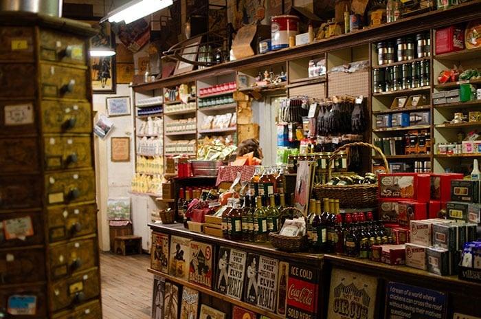 Original Mast General Store in Valle Crucis near Banner Elk NC