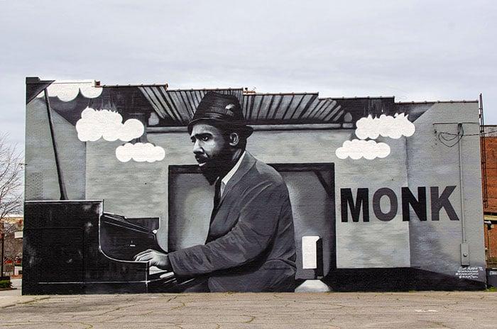 Rocky Mount Thelonius Monk Mural
